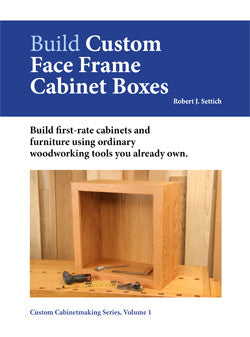 Build Custom Face Frame Cabinet Boxes