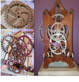 WOODEN GEAR CLOCK ACCESSORIES