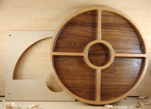 Chip Bowl Template Woodline Usa