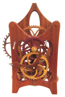 WOODEN GEAR CLOCK DELUXE PACKAGES