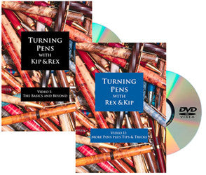TURNING PENS WITH KIP & REX DVD