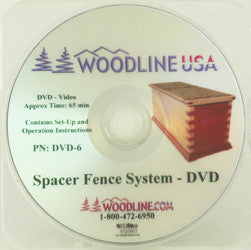 SPACER FENCE SYSTEM DVD