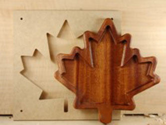 MAPLE LEAF BOWL TEMPLATE