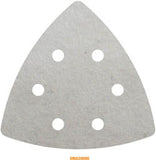 DELTA SHAPED SANDING PADS & DISKS FOR MULTI TOOL CUTTER