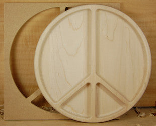 PEACE SIGN BOWL TEMPLATE