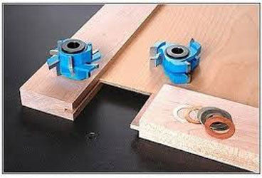 "ADJUSTABLE MISSION/SHAKER STYLE 2PC RAIL AND STILE CABINET DOOR SET FOR 3/4"" TO 1"" MATERIAL"