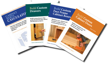 CUSTOM CABINETMAKING DVDs