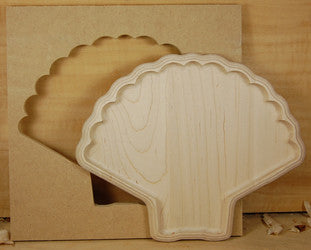 SCALLOP SHELL BOWL TEMPLATE