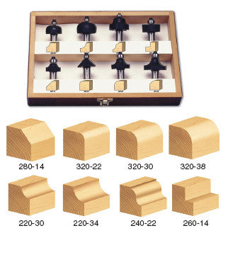 TRS-180 PROFILE BIT SET