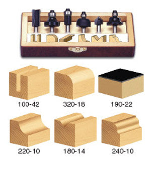 TRS-240 ALL PURPOSE ROUTER BIT SET