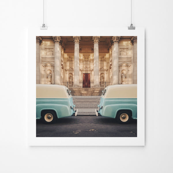 50th Mirror - Art Prints by Post Collective - 2
