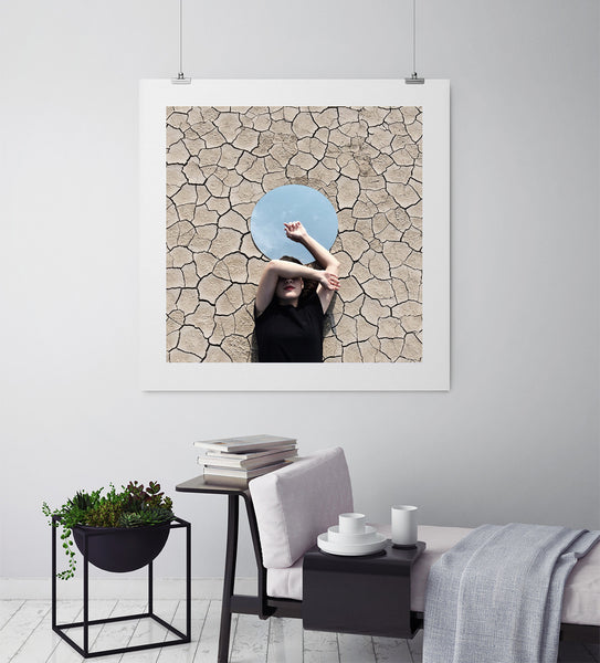 A Piece Of Sky - Art Prints by Post Collective - 3