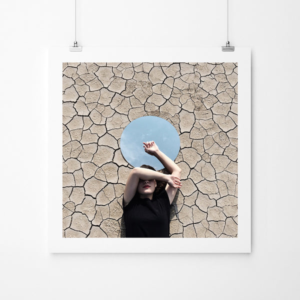 A Piece Of Sky - Art Prints by Post Collective - 2