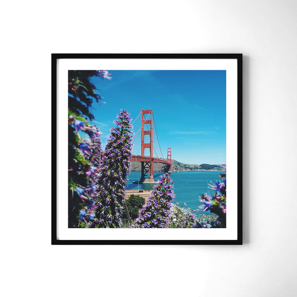 A Sunny Day in California - Art Prints by Post Collective - 2