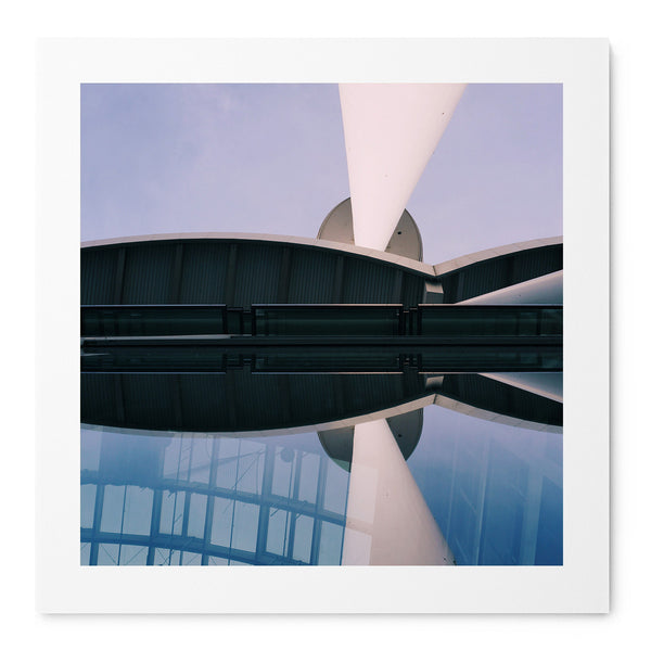 Abstract Shapes Of Hamburg - Art Prints by Post Collective - 1