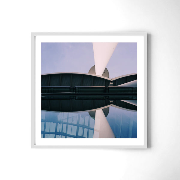 Abstract Shapes Of Hamburg - Art Prints by Post Collective - 4
