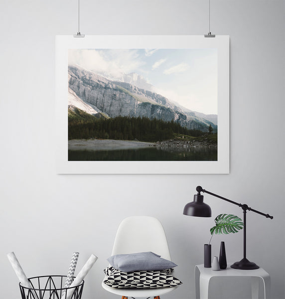 Airy Mountain Lake - Art Prints by Post Collective - 3