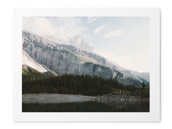 Airy Mountain Lake - Art Prints by Post Collective - 1