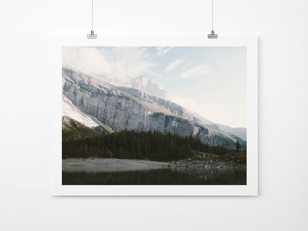 Airy Mountain Lake - Art Prints by Post Collective - 2