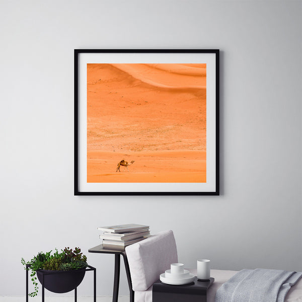Alone In The Desert - Art Prints by Post Collective - 5