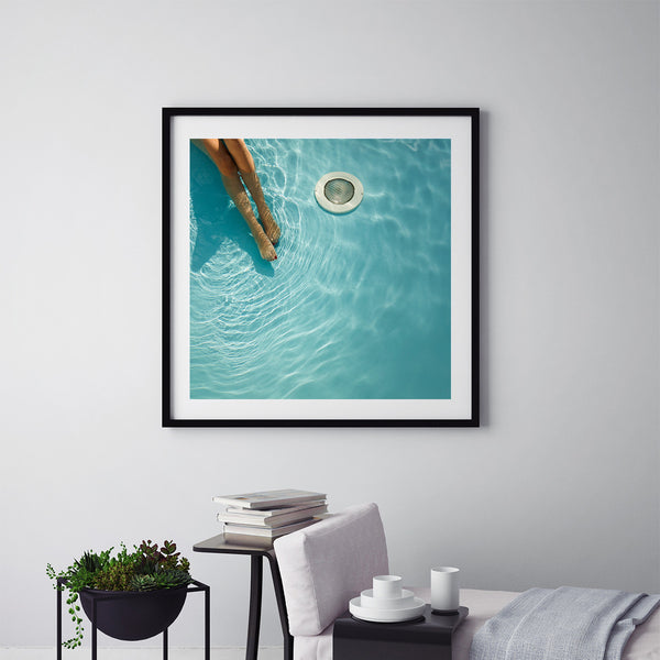 At The Pool - Art Prints by Post Collective - 5