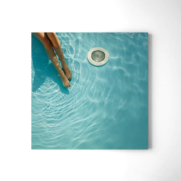 At The Pool - Art Prints by Post Collective - 2
