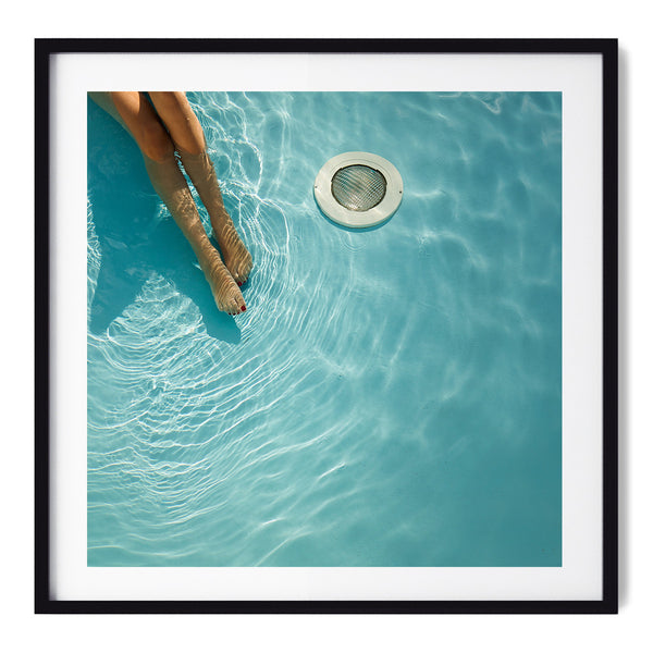 At The Pool - Art Prints by Post Collective - 1