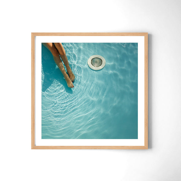 At The Pool - Art Prints by Post Collective - 3