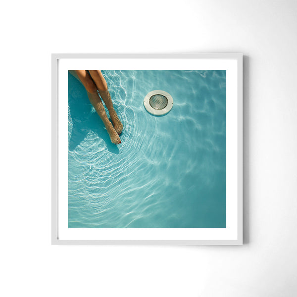 At The Pool - Art Prints by Post Collective - 4