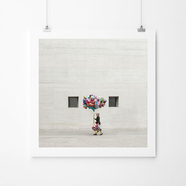 Balloon Lady - Art Prints by Post Collective - 2