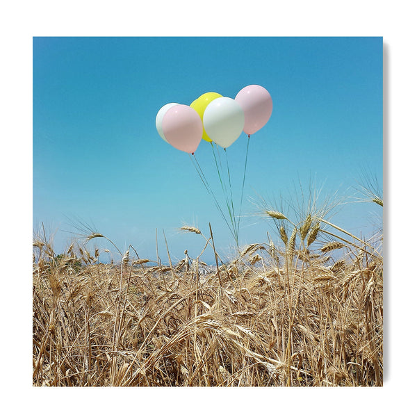 Balloons In The Field - Art Prints by Post Collective - 1