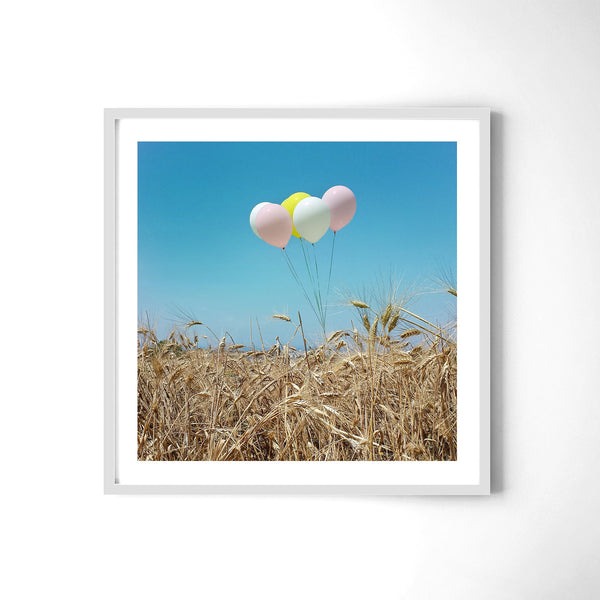 Balloons In The Field - Art Prints by Post Collective - 4