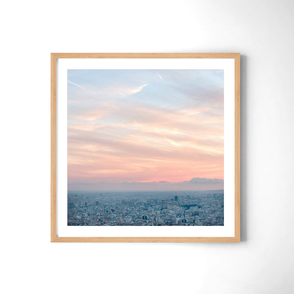 Barcelona From The Heights - Art Prints by Post Collective - 3