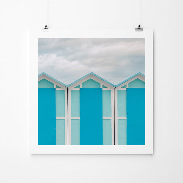 Blue Monday - Art Prints by Post Collective - 2
