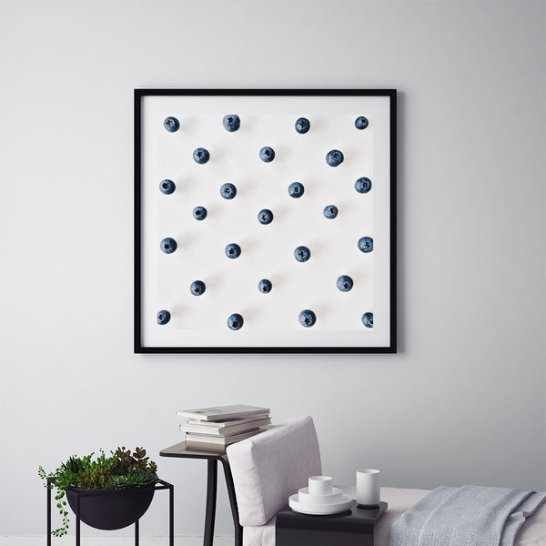 Blueberries Pattern - Art Prints by Post Collective - 5