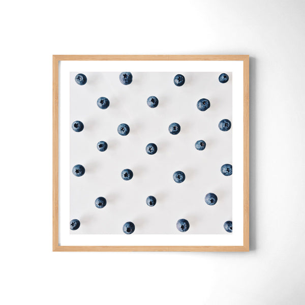 Blueberries Pattern - Art Prints by Post Collective - 3