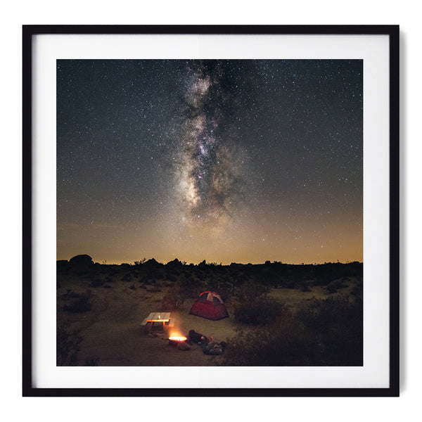 Camping Under The Milky Way - Art Prints by Post Collective - 1
