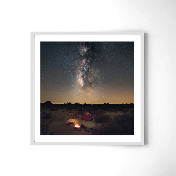Camping Under The Milky Way - Art Prints by Post Collective - 4