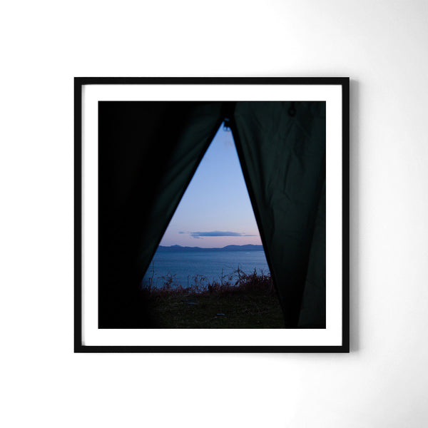 Camping in Arisaig - Art Prints by Post Collective - 2
