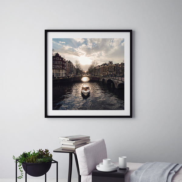 Canals Of Amsterdam - Art Prints by Post Collective - 5