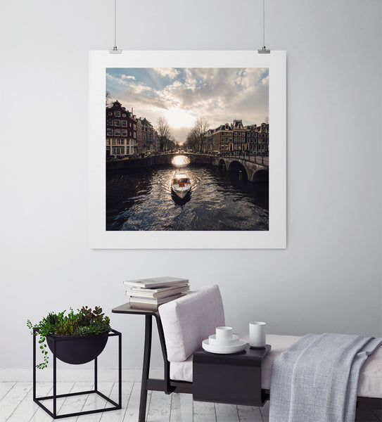 Canals Of Amsterdam - Art Prints by Post Collective - 3