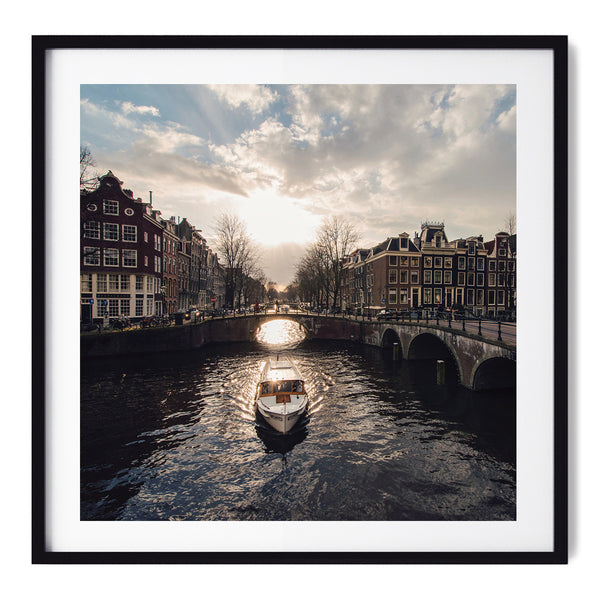 Canals Of Amsterdam - Art Prints by Post Collective - 1