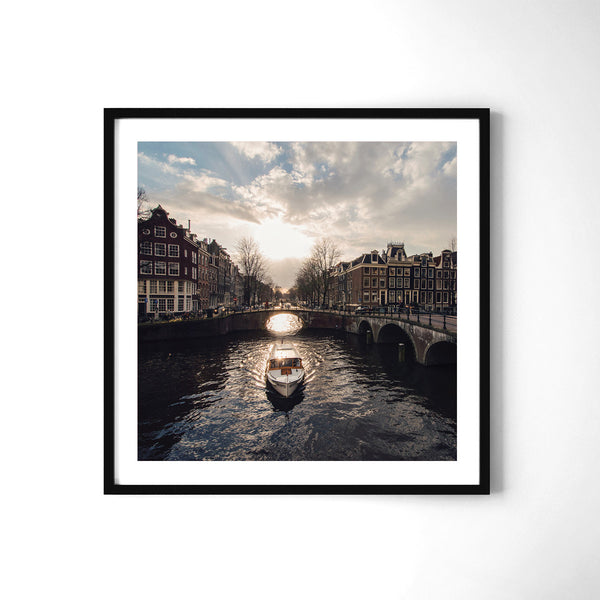Canals Of Amsterdam - Art Prints by Post Collective - 2