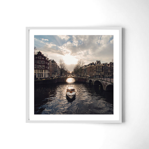 Canals Of Amsterdam - Art Prints by Post Collective - 4
