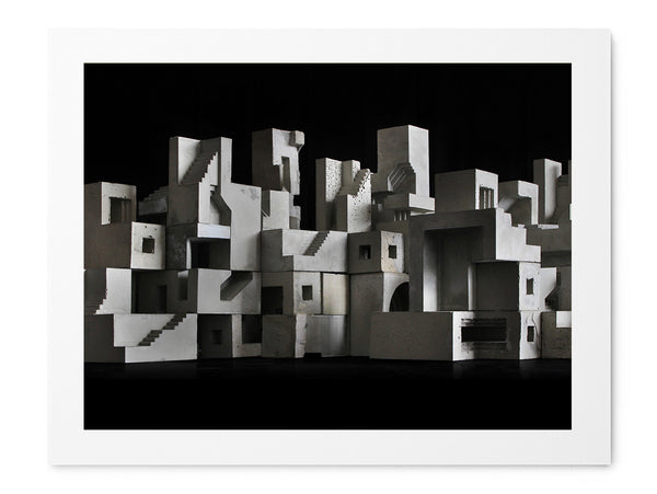 Cityscape 02 - Art Prints by Post Collective - 1
