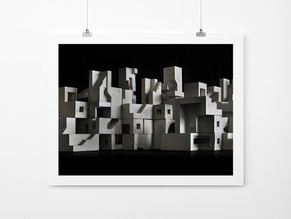 Cityscape 02 - Art Prints by Post Collective - 2