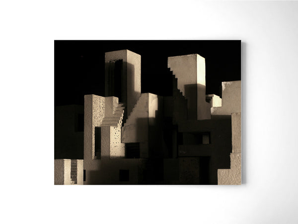 Cityscape 05 - Art Prints by Post Collective - 2