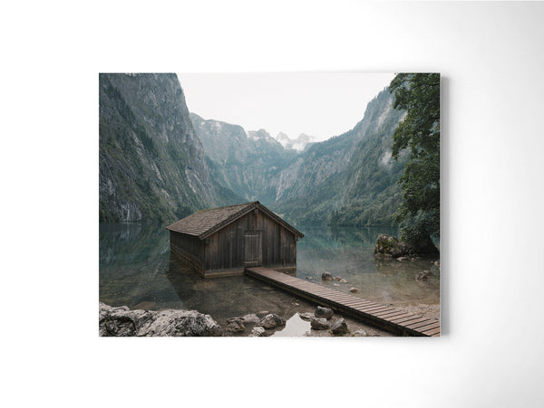 Classic Lakeside Cabin - Art Prints by Post Collective - 2