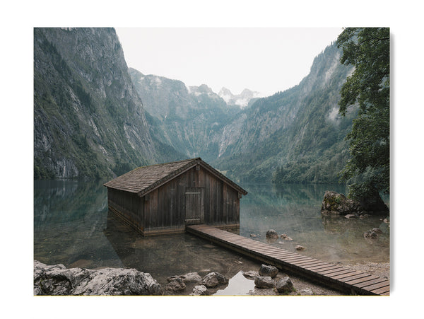 Classic Lakeside Cabin - Art Prints by Post Collective - 1