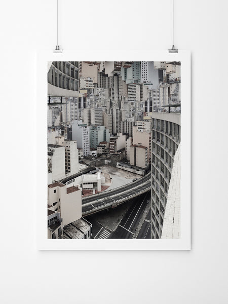 Claustrofobia Urbana 33 - Art Prints by Post Collective - 2